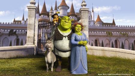 Los protagonistas de Shrek