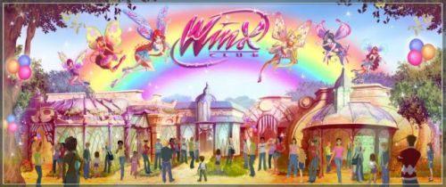 Dark Ride Suspendida sobre las Winx