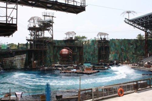 Escenario del Stunt Show WaterWorld