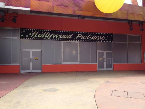 Antigua Hollywood Pictures. Fuente: Disney Central Plaza
