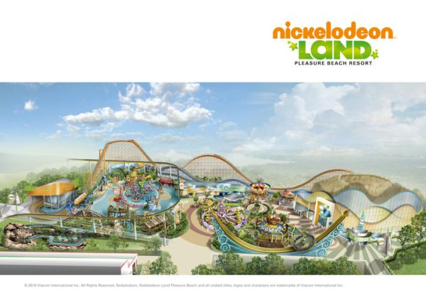 Nickelodeon Land  en Blackpool Pleasure Beach