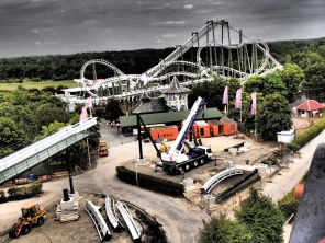 Wing Coaster - Heide Park