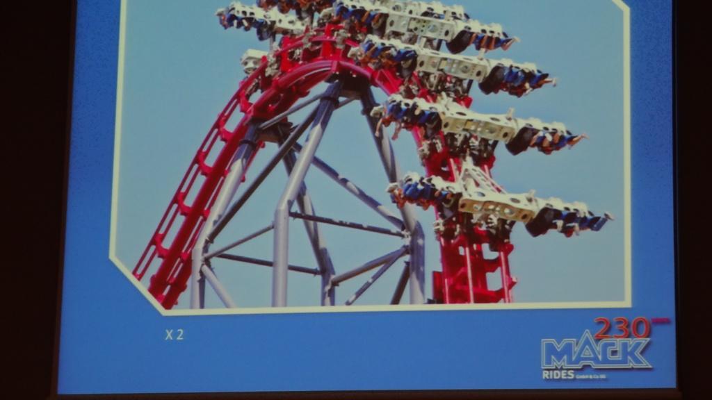 X2 en Six Flags Magic Mountain