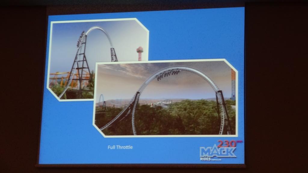 Full Throttle de Six Flags Magic Mountain
