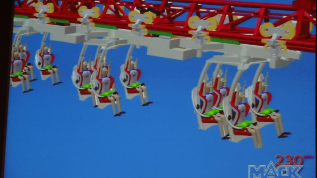 Diseño de los trenes de la atracción basada en Arthur y los Minimoys