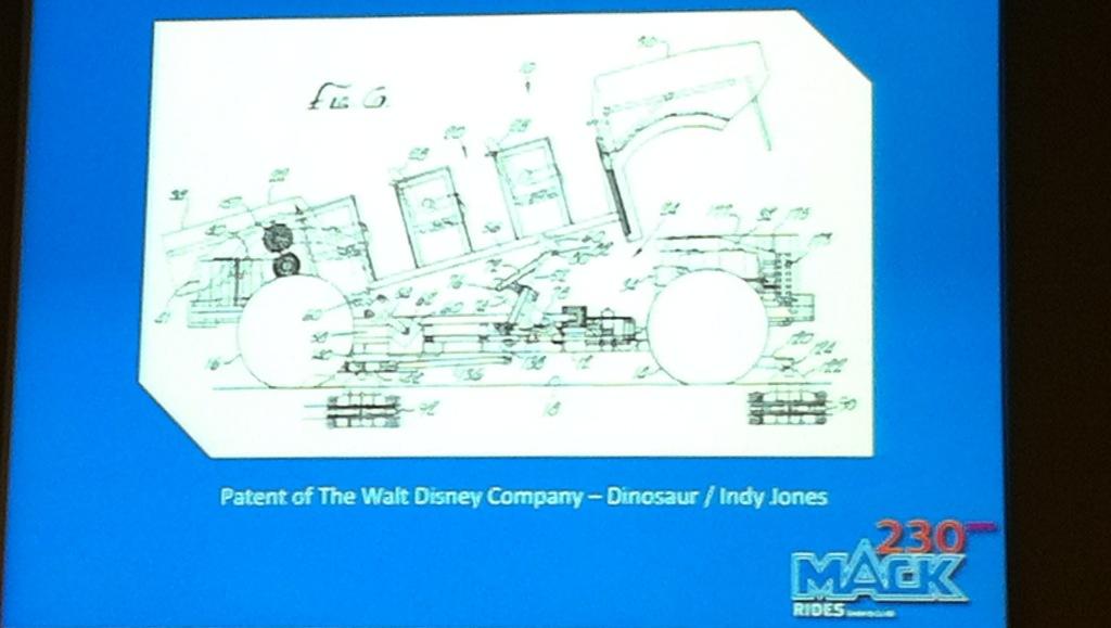 Multi-motion Dark Ride de Disney