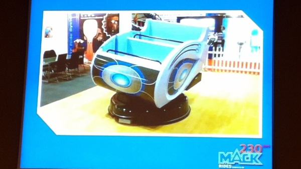 Vehículo Multi-motion creado por ETF Ride Systems