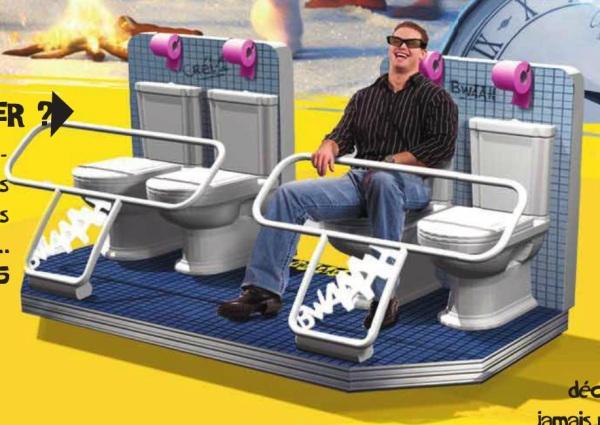 Los trenes tematizados en WC