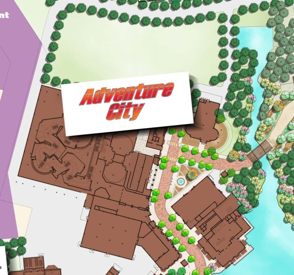Mapa Adventure City