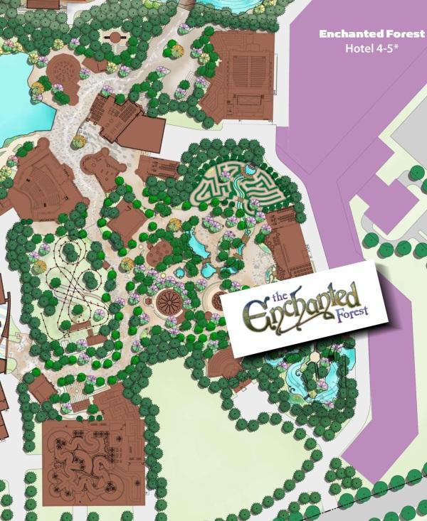 Mapa Enchanted Forest