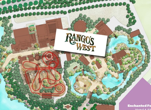 Mapa Rango's West