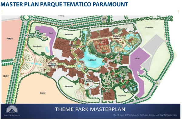 Masterplan Paramount Octubre 2013