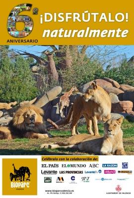 6 ANIVERSARIO DE BIOPARC VALENCIA - 2014