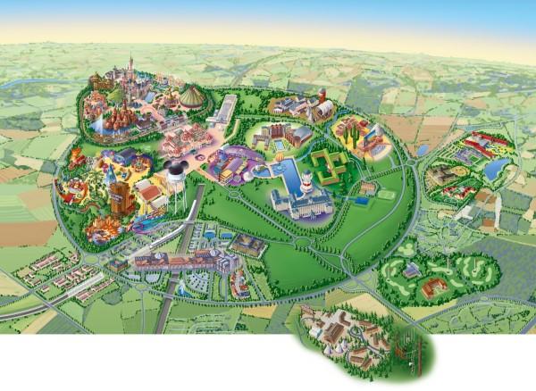 Disneyland-Paris-Resort-map