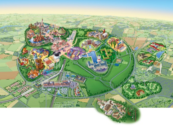 Disneyland-Paris-Resort-map