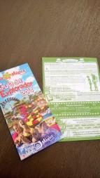 Plano y guía de espectáculos 2014