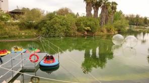 Atracciones de pago que afean las vistas del lago