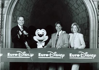 1992: Inauguración de Eurodisney