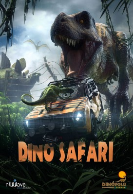 Cartel nueva película Dino Safari simulador 4D Terra Colossus Dinópolis Teruel.jpeg