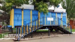 Vagón de tren sin uso