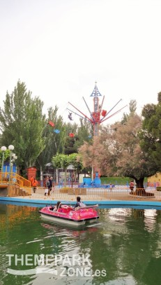 Lago del embarcadero