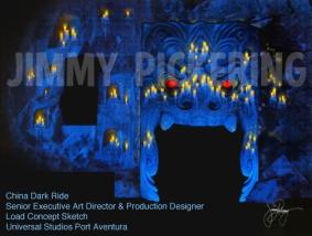 Jimmy Pickering China Port Aventura Universal Studios