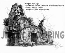 Jimmy Pickering Templo Del Fuego Universal Studios 02