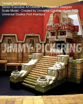 Jimmy Pickering Templo Del Fuego Universal Studios 03