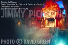 Jimmy Pickering Templo Del Fuego Universal Studios 04