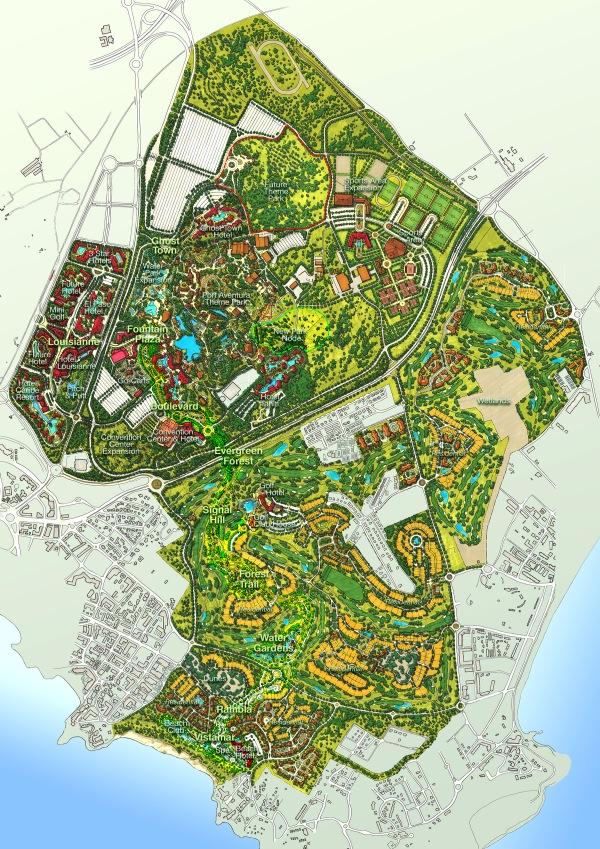 Masterplan de La Caixa para PortAventura