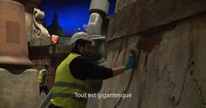 Trabajando en los tejados de París